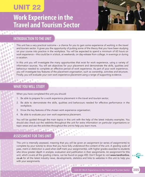 travel and tourism sector The advent of technology is fostering a change in the travel and tourism industry regarding how companies interact with customers consequently, travel companies are adopting various technologies to improve operational efficiencies and meet customers' expectations, according to leading data and.